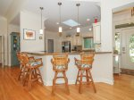 Large, Open Kitchen with Breakfast Bar at 48 Shell Ring Road