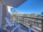 Private Main Balcony off Living Room and Master Bedroom at 2418 Villamare