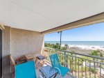 Guest Room with Private Bath and Ocean Views at 413 Captains Walk