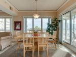 Dining Area with Seating for Six Offers Ocean Views at 4207 Windsor Court North