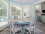 Kitchen Table with Seating for Four at 10 Laughing Gull