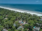 Beautiful 2nd Row Ocean Home in Sea Pines Plantation