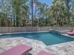 Private Pool and Hot Tub at 10 Laughing Gull