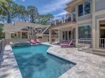 Private Pool and Spacious Deck at 10 Laughing Gull