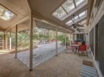 Covered Patio Area with Dining Table and BBQ Grill at 20 Ruddy Turnstone