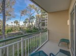 Private Balcony off Guest Room with Ocean Views at 2117 Windsor II