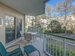 Private Balcony with Partial Ocean Views at 2117 Windsor II
