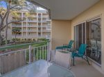 Spacious Balcony at 2117 Windsor II