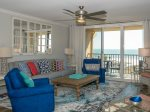 Look Straight Out to the Ocean from Living Room While Enjoying Movies on the 65