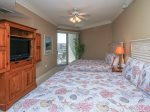 Guest Bedroom with Two Queen Beds at 2306 SeaCrest