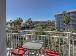 Main Balcony Overlooking Water Garden, Beach and Ocean at 2306 Seacrest