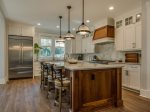 Beautiful Kitchen with Large Breakfast Island at 2 Armada