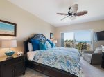 Master Bedroom with King Bed and Balcony Access at 5209 Hampton Place