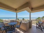 Direct Ocean Front Views from Balcony at 5209 Hampton Place