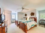 Upstairs Guest Room with Two Twin Beds at 3 Troon