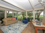 Enjoy Beautiful Golf Course Views from Enclosed Sun Room at 57 Woodbine Place