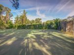Onsite Tennis Courts in Greenwood Forest