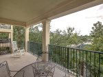 Balcony Overlooking Coligny Plaza at 302 North Shore Place