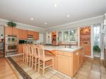 Kitchen with Breakfast Counter at 66 Dune Lane