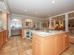 Large, Fully Stocked Kitchen at 66 Dune Lane