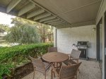 Back Patio with BBQ Grill at 204 Tennis Master