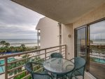 4th Floor Balcony with Ocean and Pool Views at 3424 Villamare