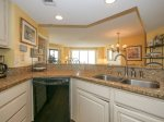 Kitchen with Ocean Views at 3424 Villamare