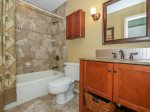 Master Bathroom with Shower/Tub Combo at 135 The Greens