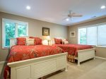 Guest Bedroom with Two Queen Beds at 71 Heritage Road