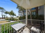 1st Floor Balcony Overlooks Pool and Ocean at 1H Beachwood Place