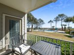 Private Balcony with Pool and Ocean Views at 1H Beachwood Place