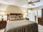 Guest Bedroom with King Bed at 1 Duck Hawk