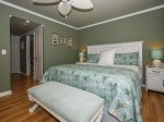 Master Bedroom with King Bed at 1872 St Andrews Common