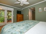Master Bedroom with Private Patio Access and Private Bathroom at 1872 St Andrews Common
