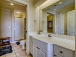 Private Master Bathroom at 503 North Shore Place