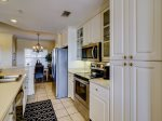 Galley Style Kitchen at 503 North Shore Place