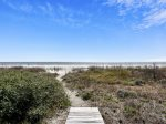 Beach Access and Views from 16 Sea Oak Lane