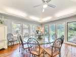 Large Dining Table Seats 10 at 16 Sea Oak Lane
