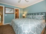 Guest Bedroom with Attached Private Bath at 20 Hilton Head Beach Villa