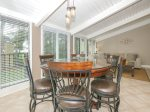 Dining Table with Seating for Six at 20 Hilton Head Beach Villa