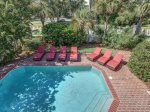 Sunny and Spacious Pool Deck at 10 Knotts Way
