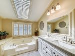 Updated Master Bathroom at 2 Driftwood
