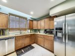 Kitchen with Stainless Steel Appliances at 2 Driftwood