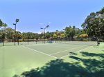 Free On-site Tennis Courts at Evian