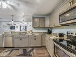 Kitchen with Stainless Steel Appliances at 606 Queens Grant