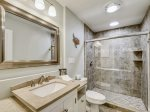 Master Bathroom with Shower Only at  606 Queens Grant