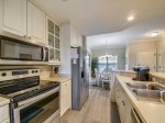 Galley Style Kitchen at 304 North Shore Place