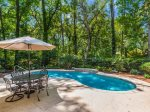 Spacious and Fully Fenced Pool Area at 38 Battery Road