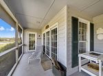Spacious Screened Porch at 32 Lands End