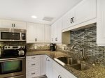 Fully Equipped Kitchen at 1105 Villamare